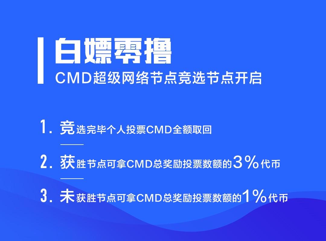 欧洲隐私大神级POC项目CMD超级网络火热来袭