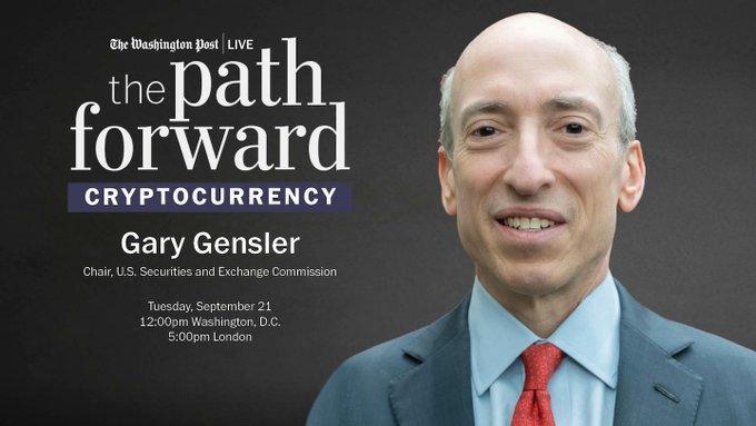 《华盛顿邮报》专访全文:美SEC主席眼中的加密货币与恒大危机